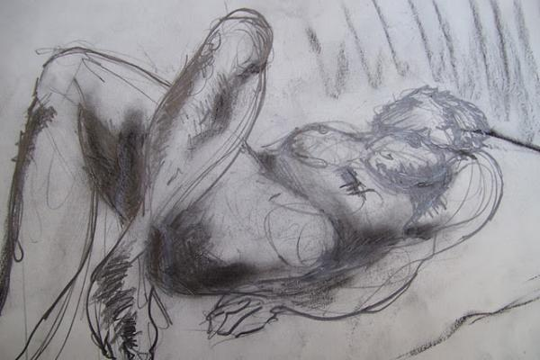 Greg Hoey - Artists Model Resting