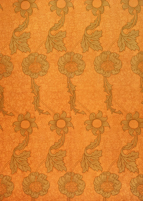 Arts And Crafts Design Print by William Morris
