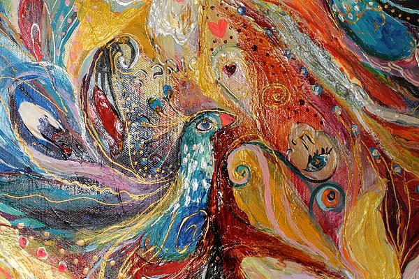 Artwork Fragment 03 Print by Elena Kotliarker