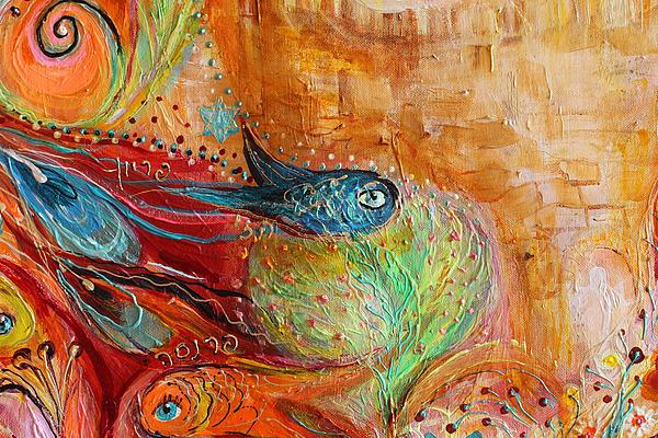 Artwork Fragment 65 Print by Elena Kotliarker