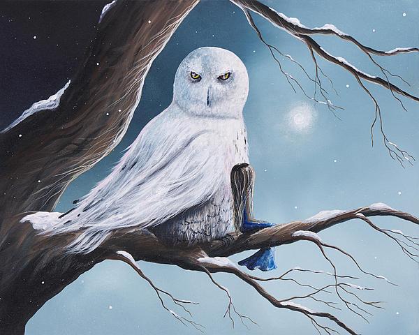 As Day Fades Into Night By Shawna Erback Print by Shawna Erback