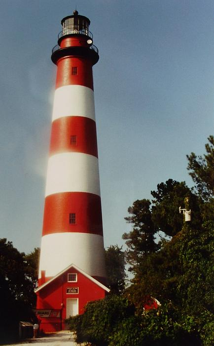 Assateague Lighthouse Print by Joann Renner