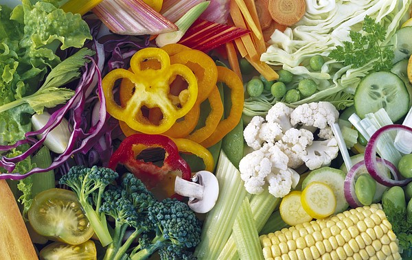 Assorted Vegetables Print by Science Photo Library