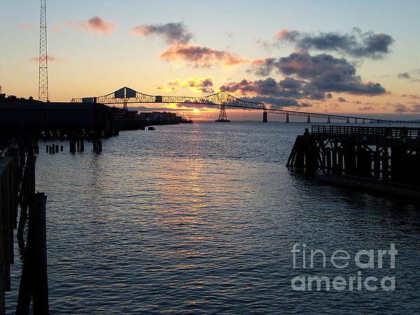J J - Astoria Bridge - Sunset Photography