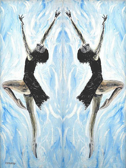 At The Ballet Print by Patrick J Murphy