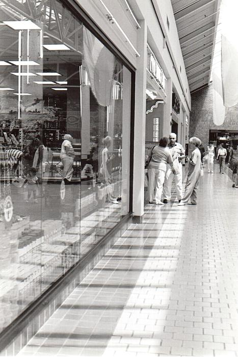 Vickie G Buccini - At Willow Grove Mall Reflecting