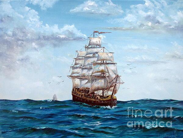 Atlantic Crossing  Print by Lee Piper