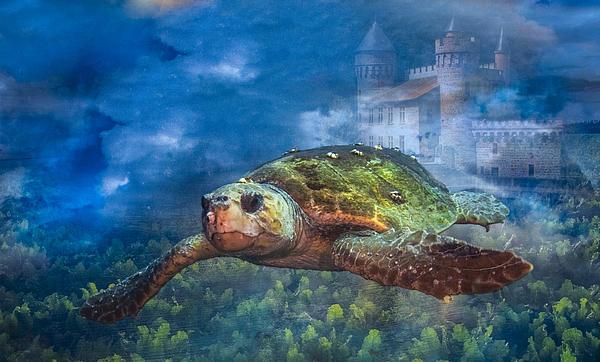 Atlantis Print by Debra and Dave Vanderlaan