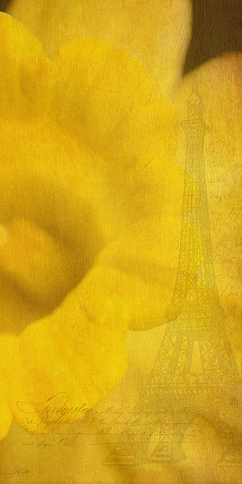 Au Coeur De La Jonquille Print by Lisa Knechtel