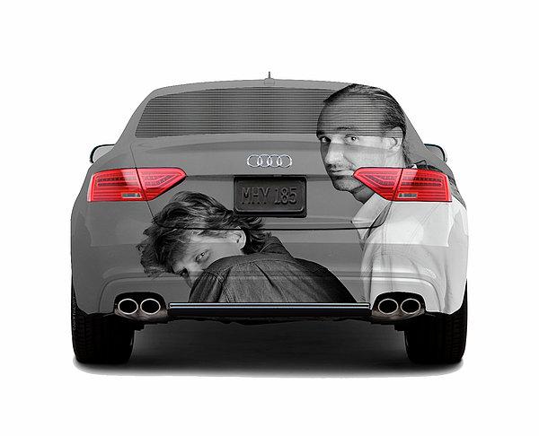 Audi S5 Laid Back Copenhagen Print by Jan Faul