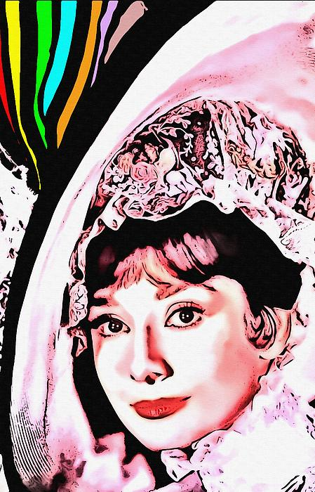 Audrey Hepburn In My Fair Lady Print by Art Cinema Gallery