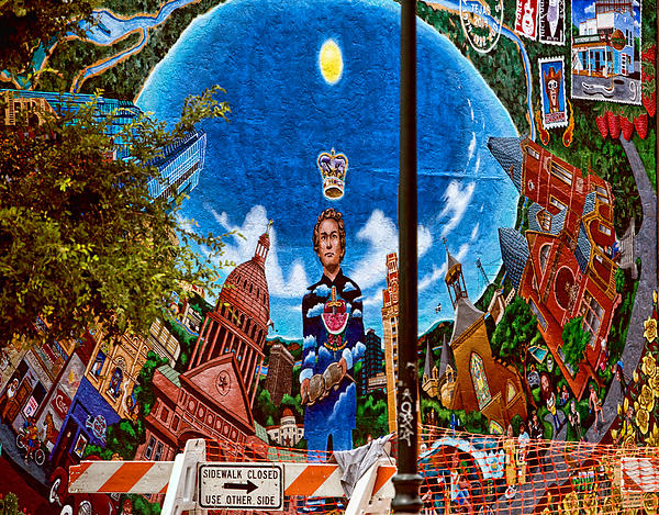 Austin iconic mural by linda phelps for Austin mural tour
