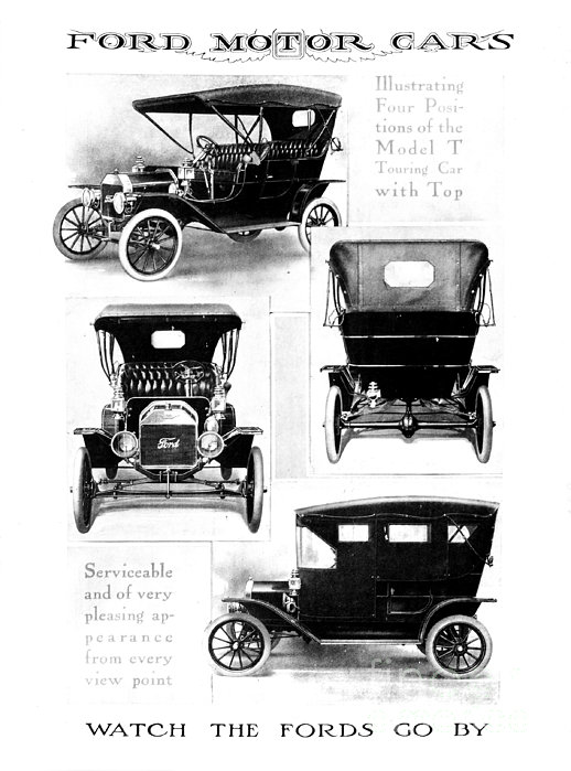 Automobile Advertisement Print by Granger