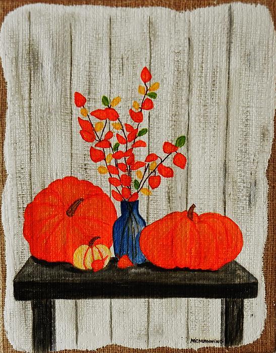 Celeste Manning - Autumn Arrangement