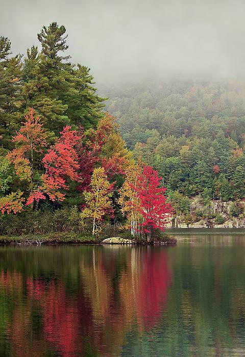 Autumn Breath Print by Evelina Kremsdorf