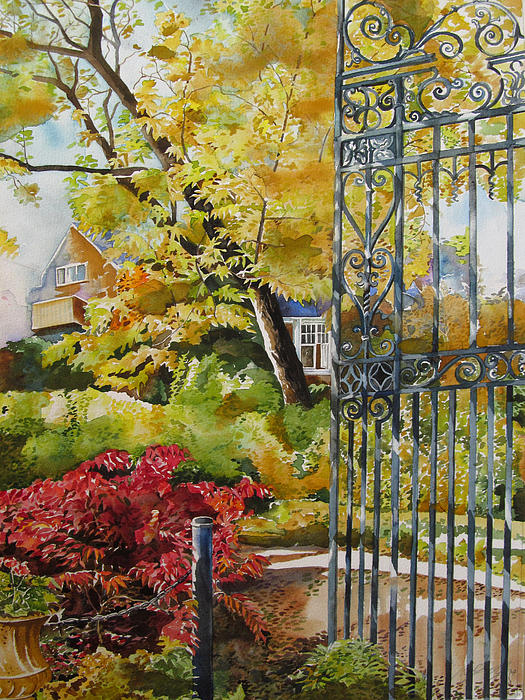Alfred Ng - Autumn By The Gate