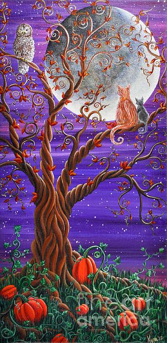Autumn Evening Print by Kyra Wilson