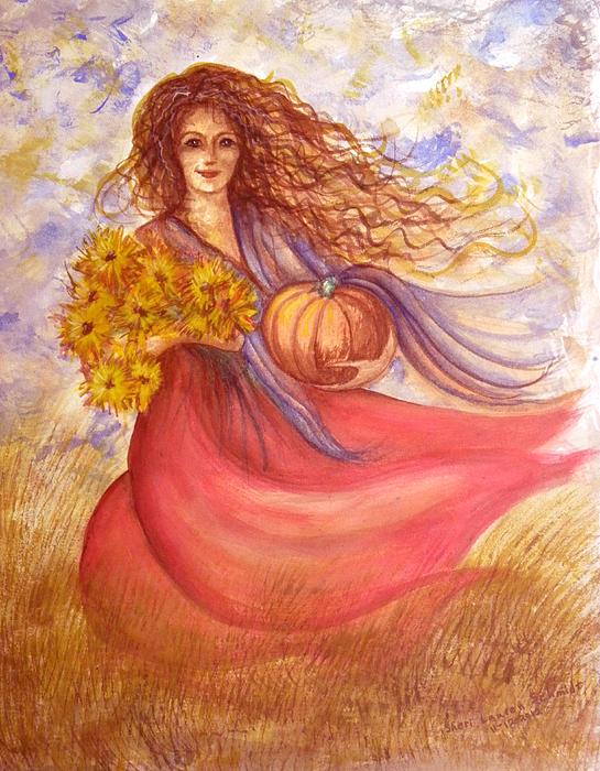 Autumn Harvest Print by Sheri Lauren Schmidt