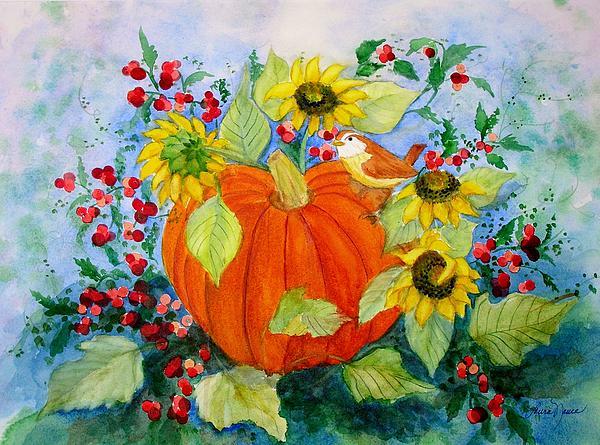 Autumn Print by Laura Nance