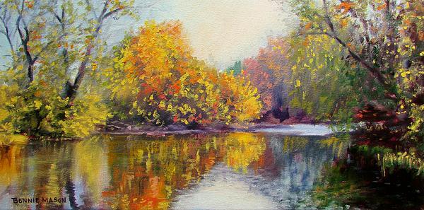 Bonnie Mason - Autumn on the River