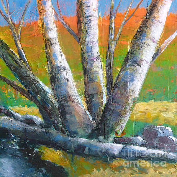 Autumn Splendor Print by Melody Cleary