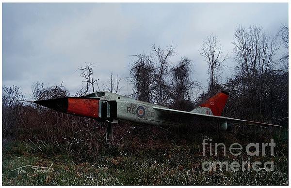 Avro Arrow In The Cove Print by Tom Straub