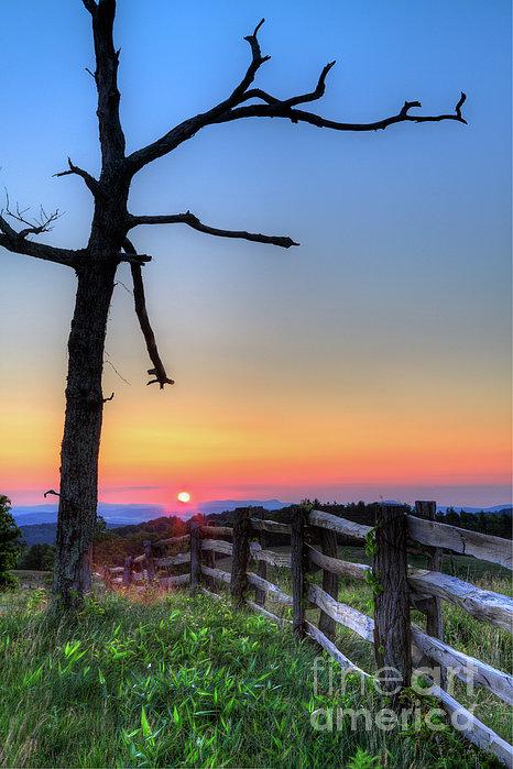 Dan Carmichael - Awakening Day - Blue Ridge Sunrise I