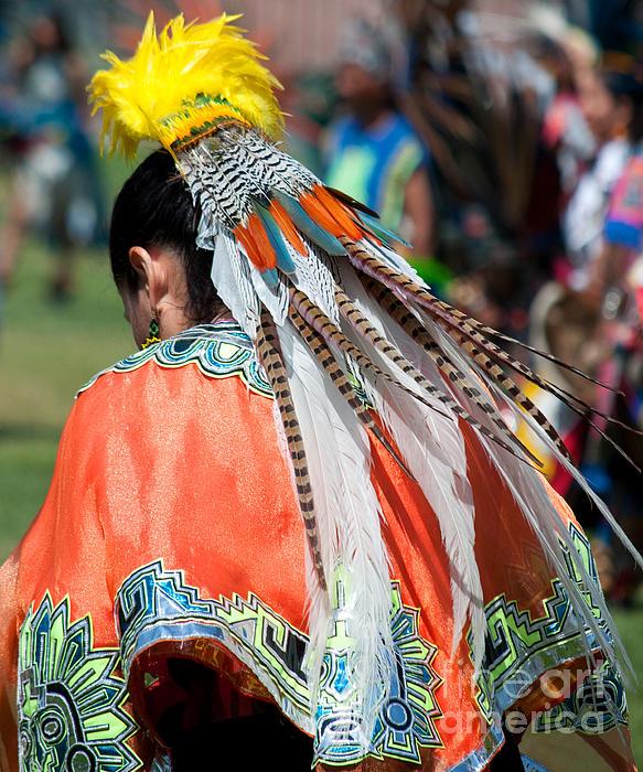 Aztecan Ceremony 6 Print by Gwyn Newcombe