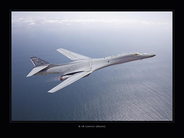 B-1b Lancer Print by Larry McManus