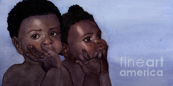 Babies Print by Isabella Kung