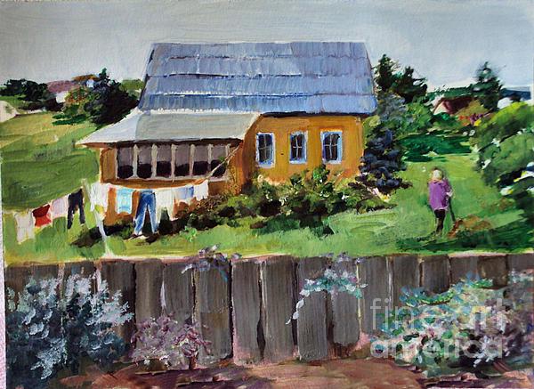 Diane Ursin - Back Yard St. Petersburg