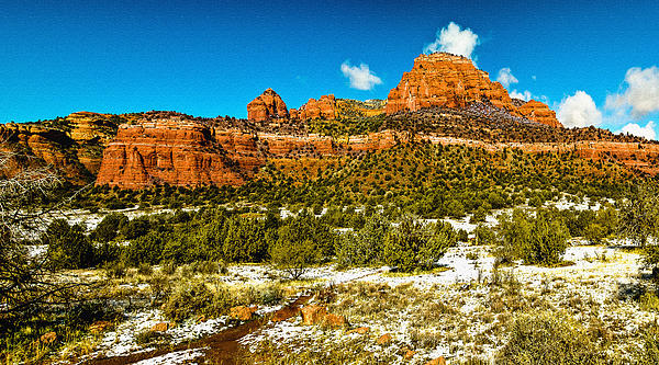 Nadine and Bob Johnston - Backcountry Panorama Sedona