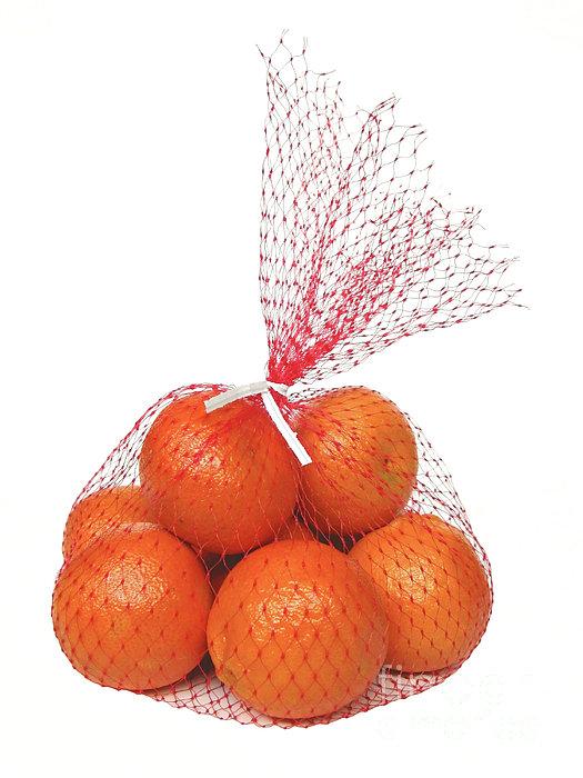 Bag Of Oranges Print by Ann Horn