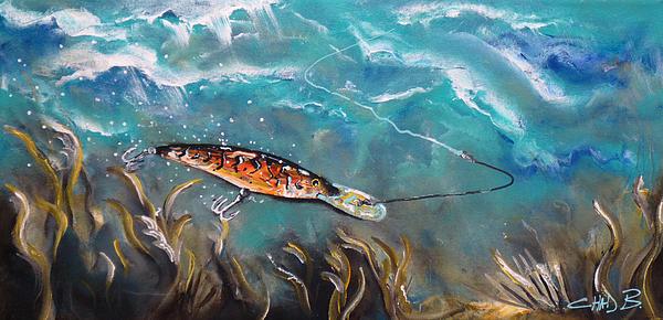 Bagley's Deep Dive Print by Chad Berglund