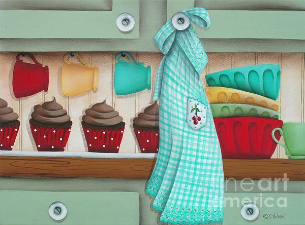 Baking Day Print by Catherine Holman
