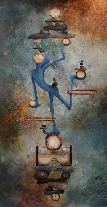 Balance Print by Lorraine Ulen
