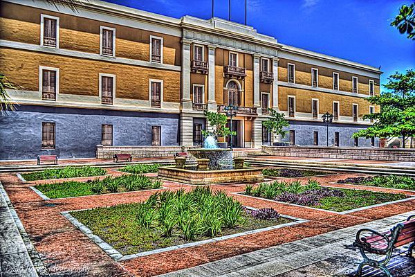 Ballaja Barracks Museum  Print by Diosdado Molina