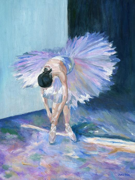 Ballerina Print by Jamie Frier