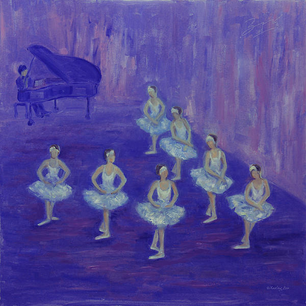Xueling Zou - Ballerina Rehearsal