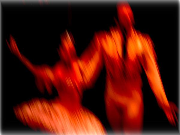 Ballet Blur 1 Print by Paulo Guimaraes