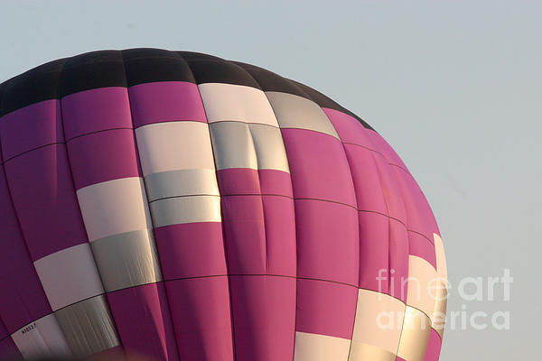 Balloon-purple-7457 Print by Gary Gingrich Galleries
