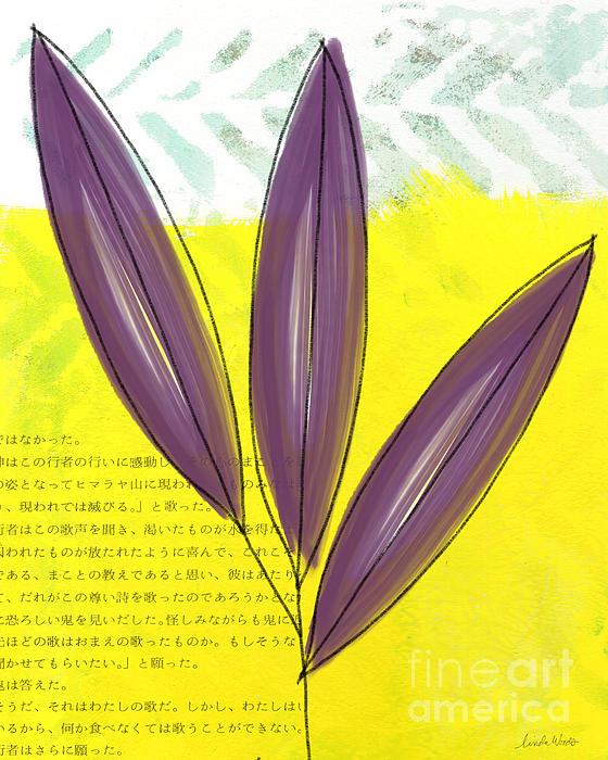Bamboo Print by Linda Woods
