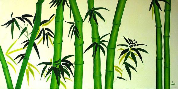 Bamboos Print by Sonali Kukreja