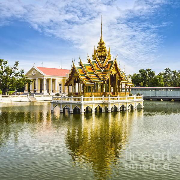 Bang Pa In Palace Thailand Print by Colin and Linda McKie