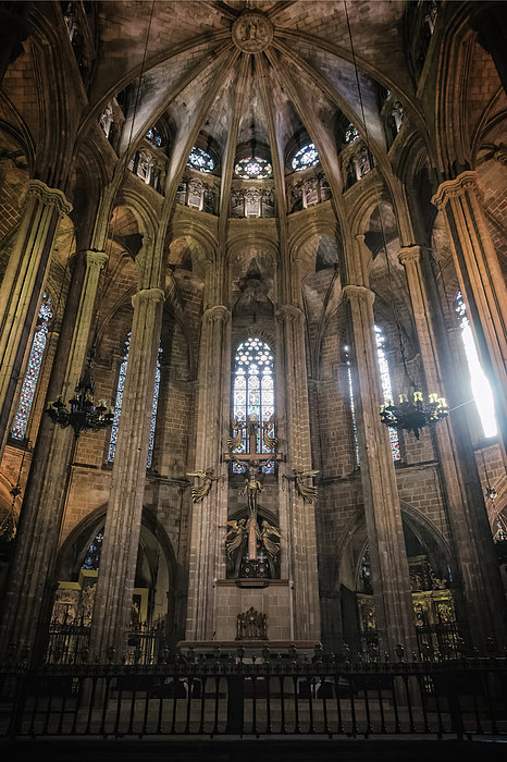 Joan Carroll - Barcelona Cathedral Interior