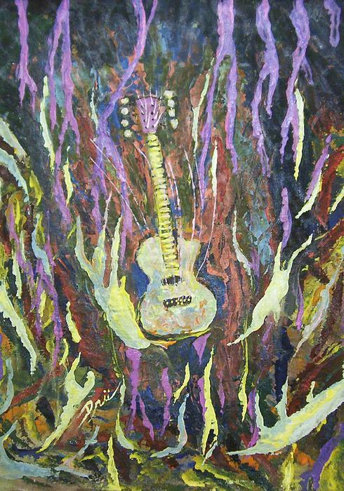 Eric Dru Stephenz Drury - Baritone 8 String Electric Guitar