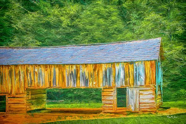 Barry Jones - Barn in the Cove