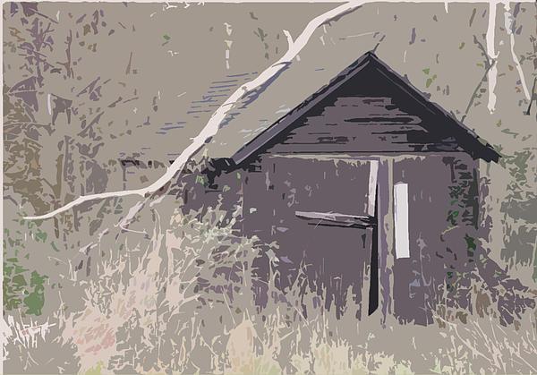 Barns #4 Print by Glenn Cuddihy
