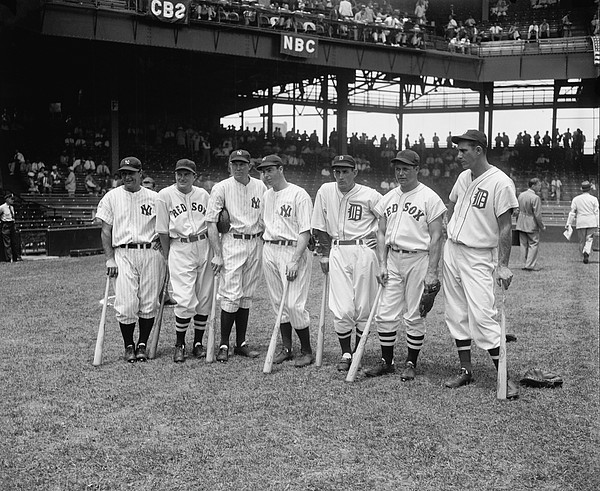 Baseball All Star Sluggers Print by Underwood Archives