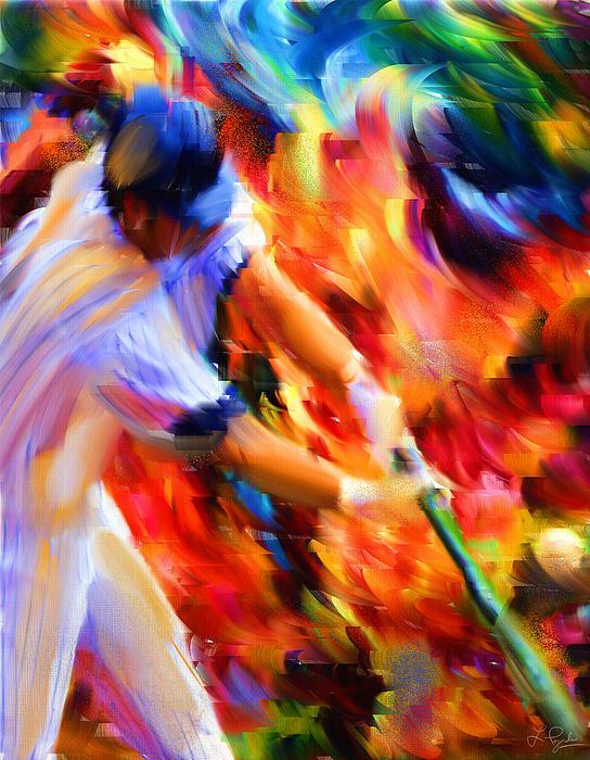 Baseball IIi Print by Lourry Legarde
